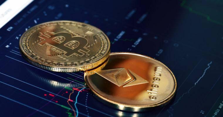 Около 90% реального объема торгов формируют биткоин, Ethereum и Tether