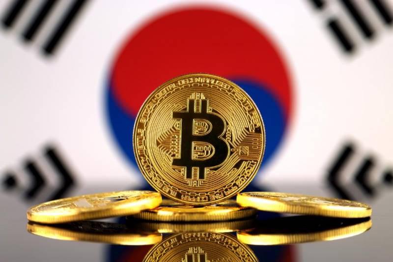 Средневзвешенная цена биткоина в Южной Корее снизилась ниже мировых значений
