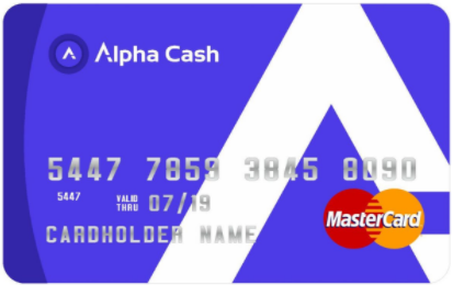Alpha Cash Card