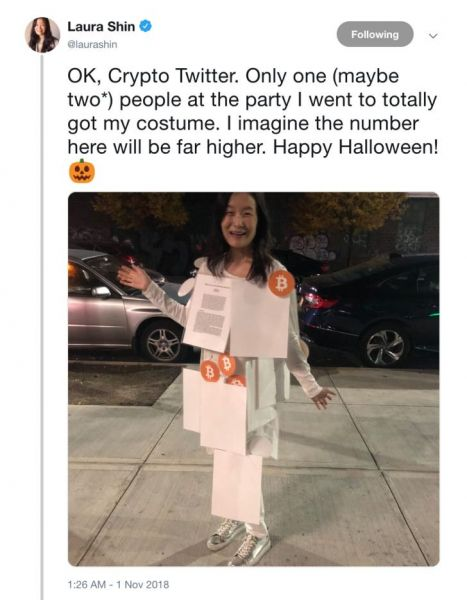 Night of the Living HODLers: Halloween 2018's Best Crypto Costumes