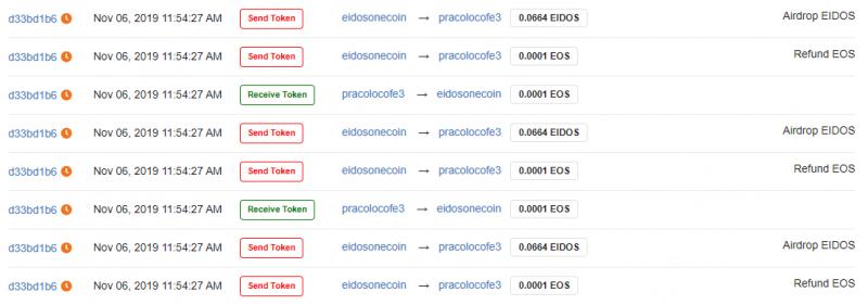 Сеть EOS испытывает проблемы в работе из-за недавнего запуска эирдропа