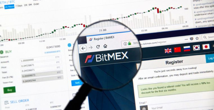 Курс биткоина на бирже BitMEX упал до 0$