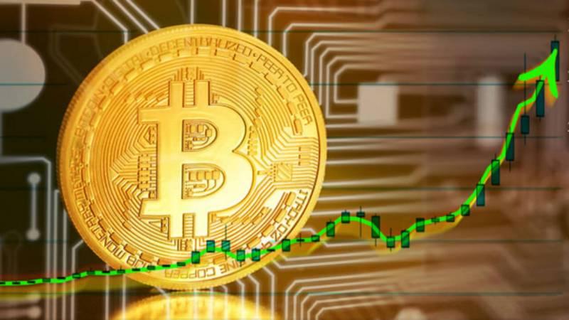 Впервые с 25 октября биткоин продемонстрировал внутридневной рост более чем на 10%