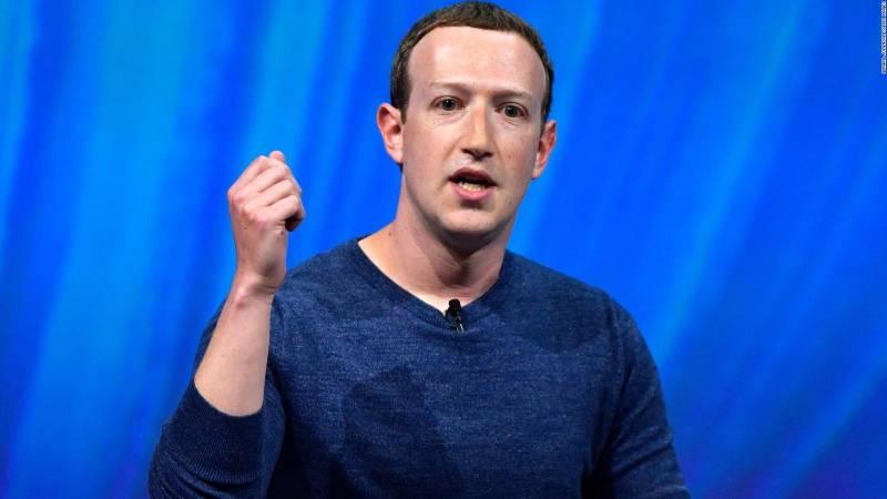 Марк Цукерберг призвал к государственному регулированию криптовалют