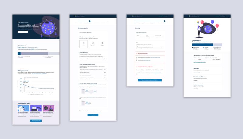 В сеть попали скриншоты интерфейса депозитного контракта Ethereum 2.0