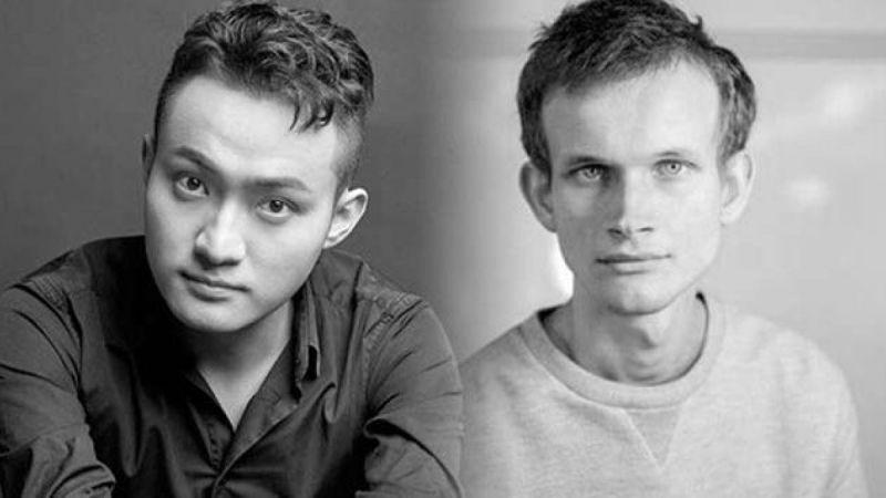 Виталик Бутерин и Джастин Сан обменялись колкостями в Твиттере
