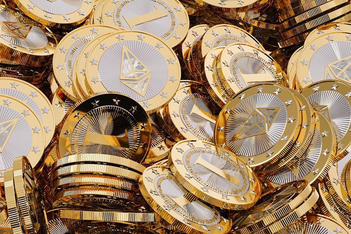Более 77% монет Ethereum на внешних аккаунтах не перемещались уже полгода