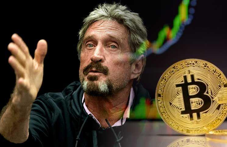 Джон Макафи: Поверить в рост биткоина до $1 млн могут только идиоты