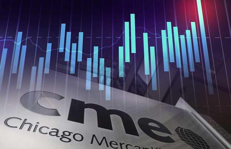 На CME объемы торгов BTC-фьючерсами достигли трехмесячного минимума