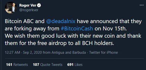 Сеть Bitcoin Cash готовится к хардфорку