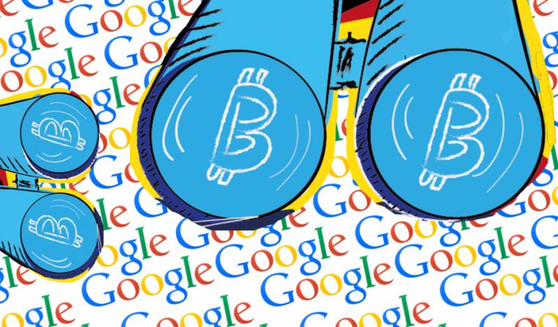 Google Trends зафиксировал падение интереса к биткоину и DeFi