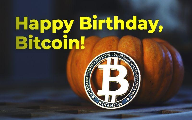 Знаменитости поздравили биткоин с приближающимся днем рождения