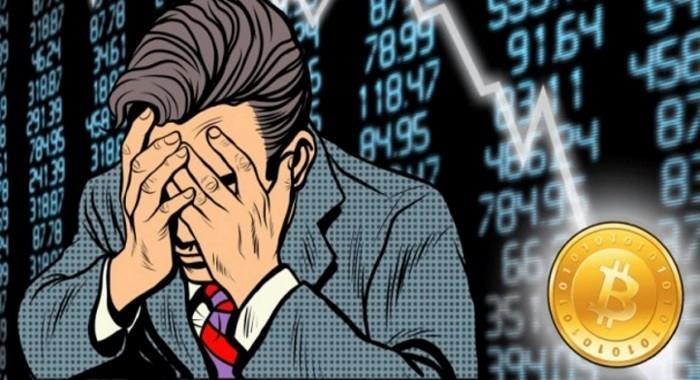 Падение цены биткоина стоило трейдерам $517 млн