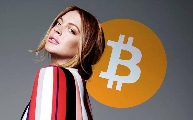 Линдси Лохан привлекла внимание к биткоину и своему NFT-токену