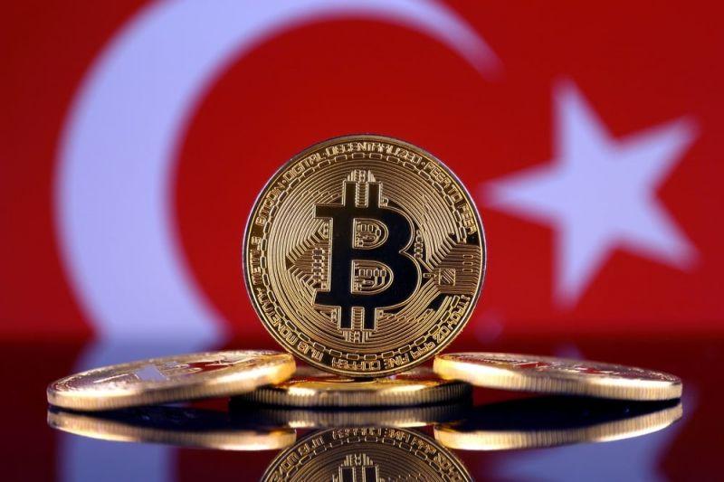Цена биткоина в Турции поднималась до $100 000