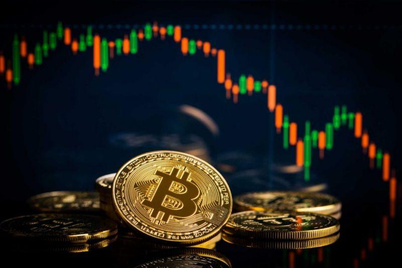 Цена биткоина резко упала на $3000