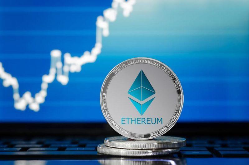 Цена Ethereum впервые поднялась выше $3 000