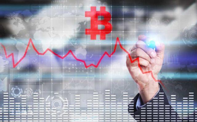 Технические уровни на графике биткоина сулят продолжение снижения