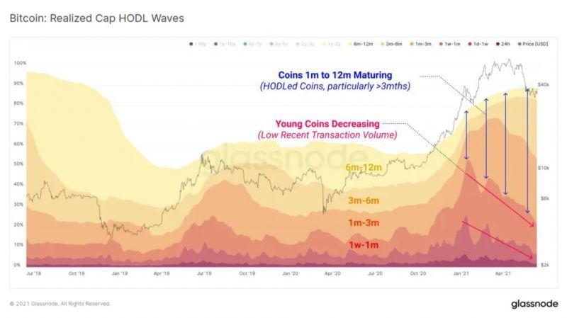 Glassnode: Ходлеры продолжают удерживать свои монеты