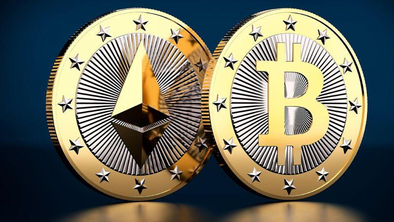 Объемы торгов Ethereum превзошли показатели биткоина