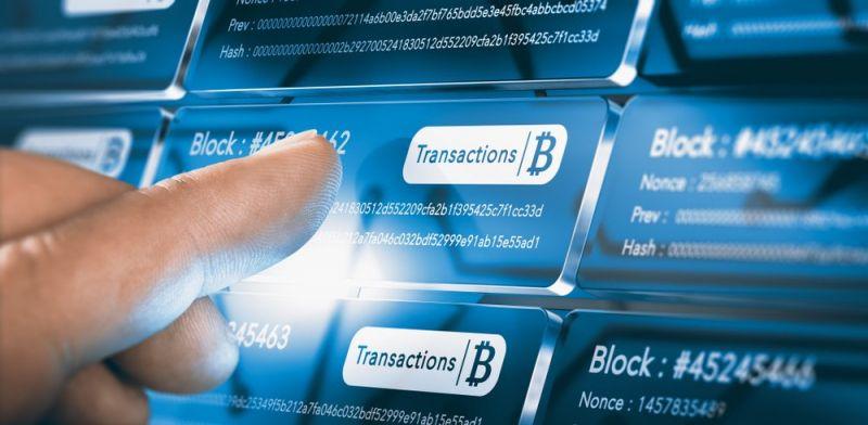 Аналитики отметили рост крупных транзакций в сети биткоина