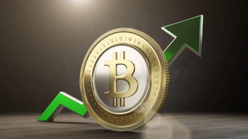 Цена биткоина прибавила 5% за два часа