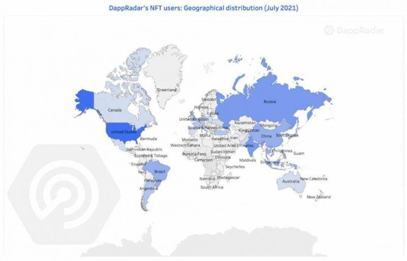 Россия вошла в пятерку стран с активным интересом к DeFi