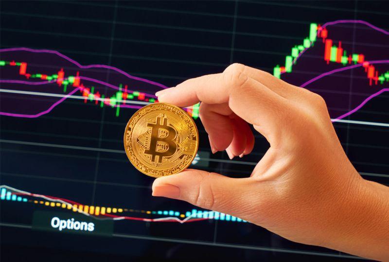 Цена биткоина подобралась вплотную к отметке в $52 тыс