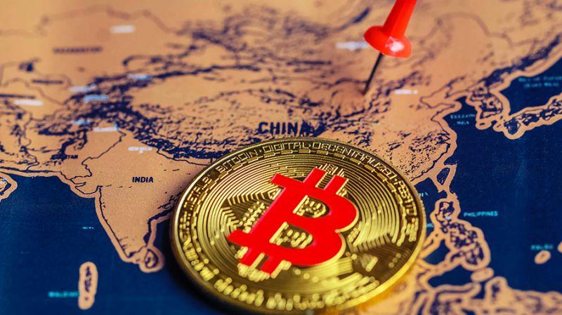 Цена биткоина обвалилась почти на $3000 после новостей из Китая