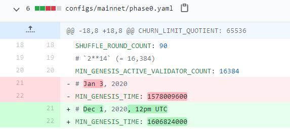 Ethereum Foundation опубликовала официальную дату создания генезис-блока Ethereum 2.0