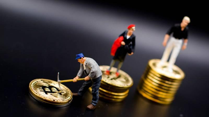 Сложность майнинга биткоина прибавила 7%