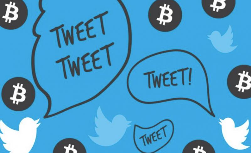 Количество позитивных твитов о биткоине подскочило до полугодового максимума